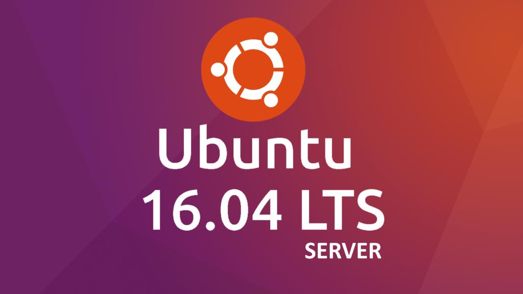 ubuntu1604LTS_server